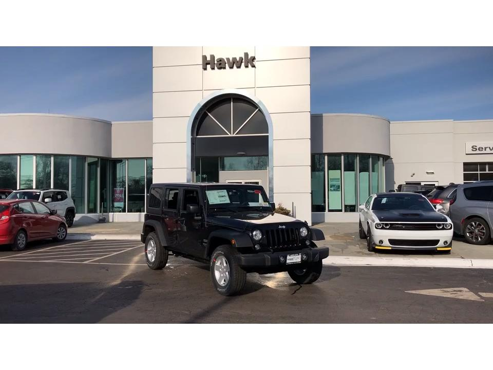 Pre-Owned 2018 Jeep Wrangler Unlimited Sport S 4WD