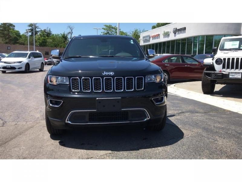 Pre-Owned 2018 Jeep Grand Cherokee Limited AWD