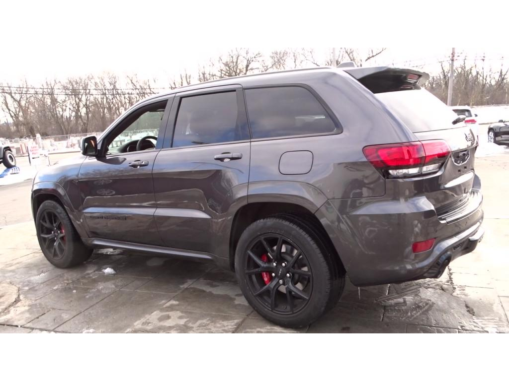 Pre-Owned 2018 Jeep Grand Cherokee SRT 4WD