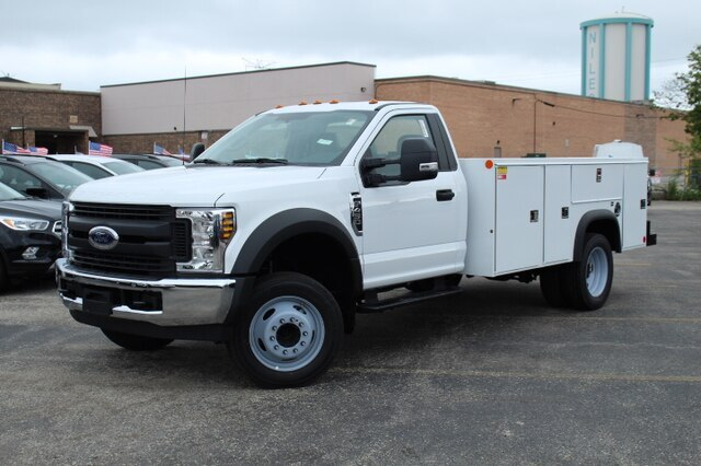 New 2019 Ford F-450 11' Service Body