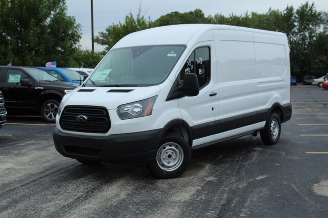 New 2019 Ford Transit-350 T-350 MR 148 Sliding Pass-Side Cargo Door