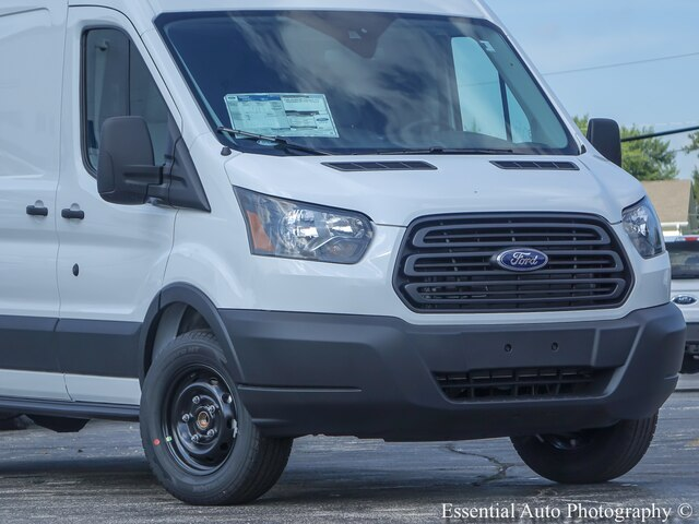 New 2019 Ford Transit-350 w/Sliding Pass-Side Cargo Door RWD Cargo Van