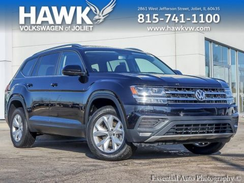 Certified Pre-Owned 2018 Volkswagen Atlas 3.6 Launch Edition 4Motion